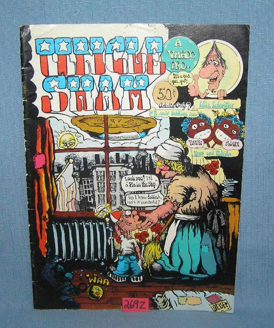 Uncle Sham adults only comic book