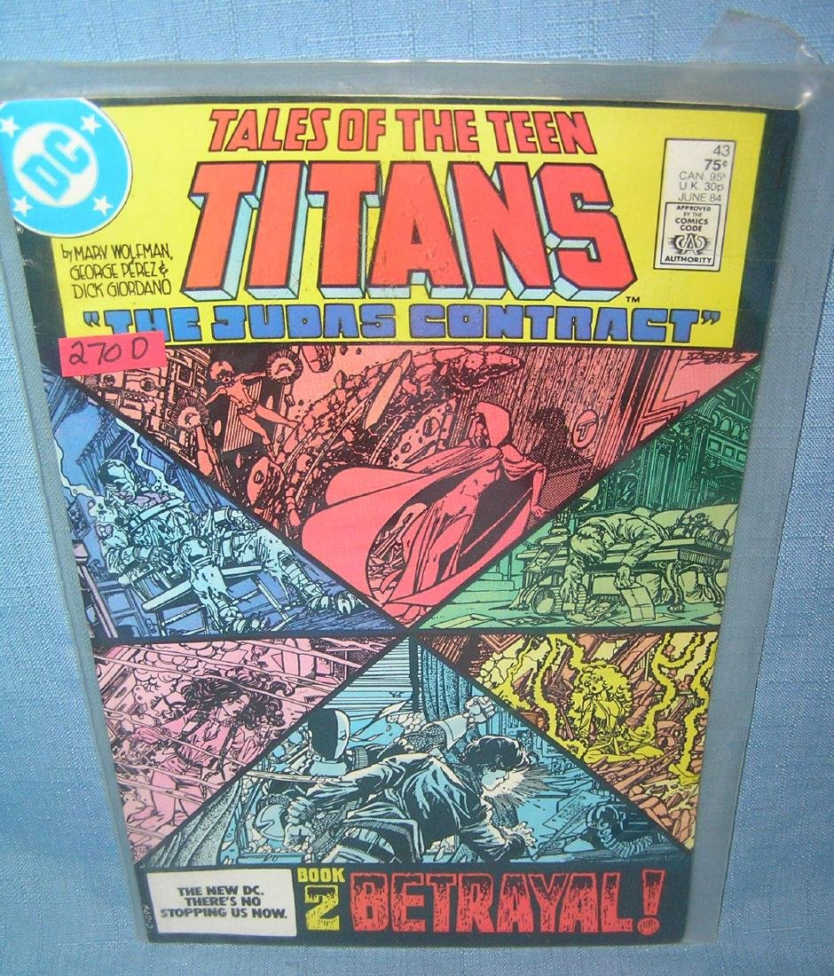 Tales of the teen titans the Judas contract