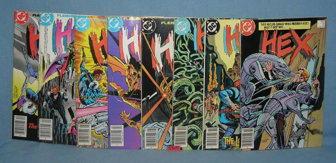 Group of 8 vintage DC comic books