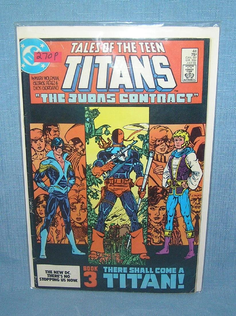 Tales of the Teen Titans The Judas Contract issue 44