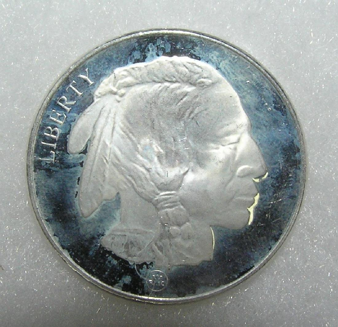Indian Head 1 ounce pure silver commemorative coin