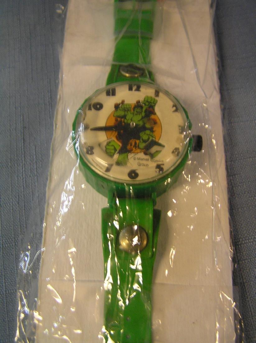 Vintage Incredible Hulk wrist watch