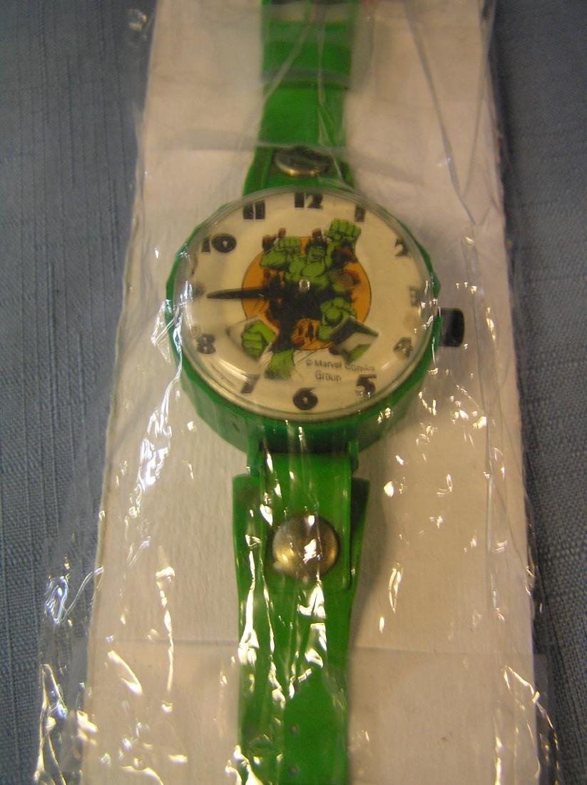 Vintage Incredible Hulk wrist watch