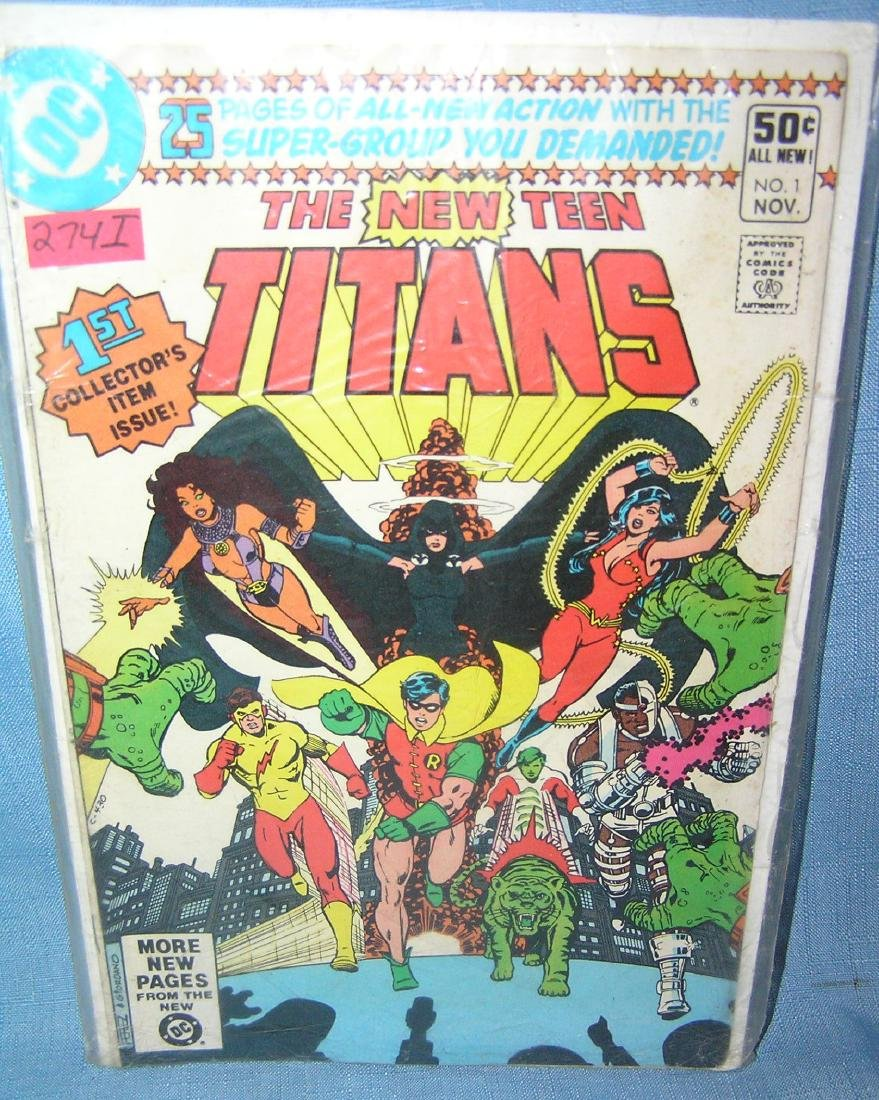 The New Teen Titans issue number 1 1980