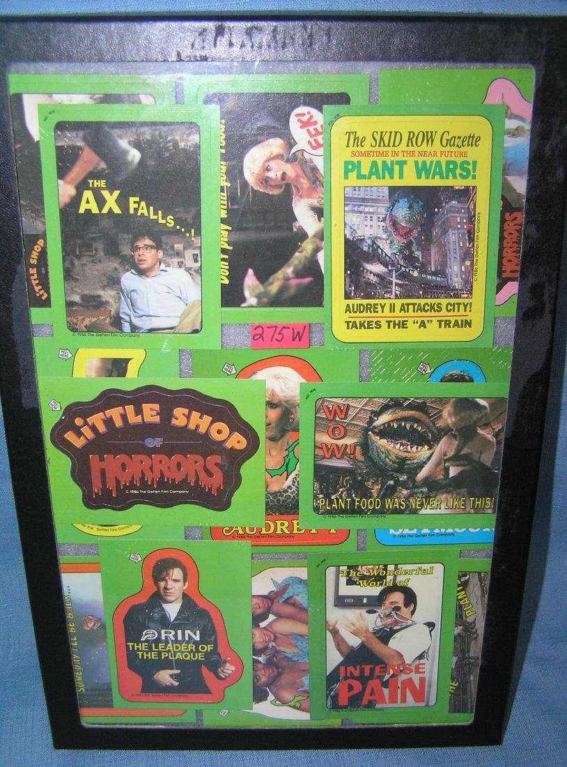 Group of vintage Little Shop of Horrors nonsports