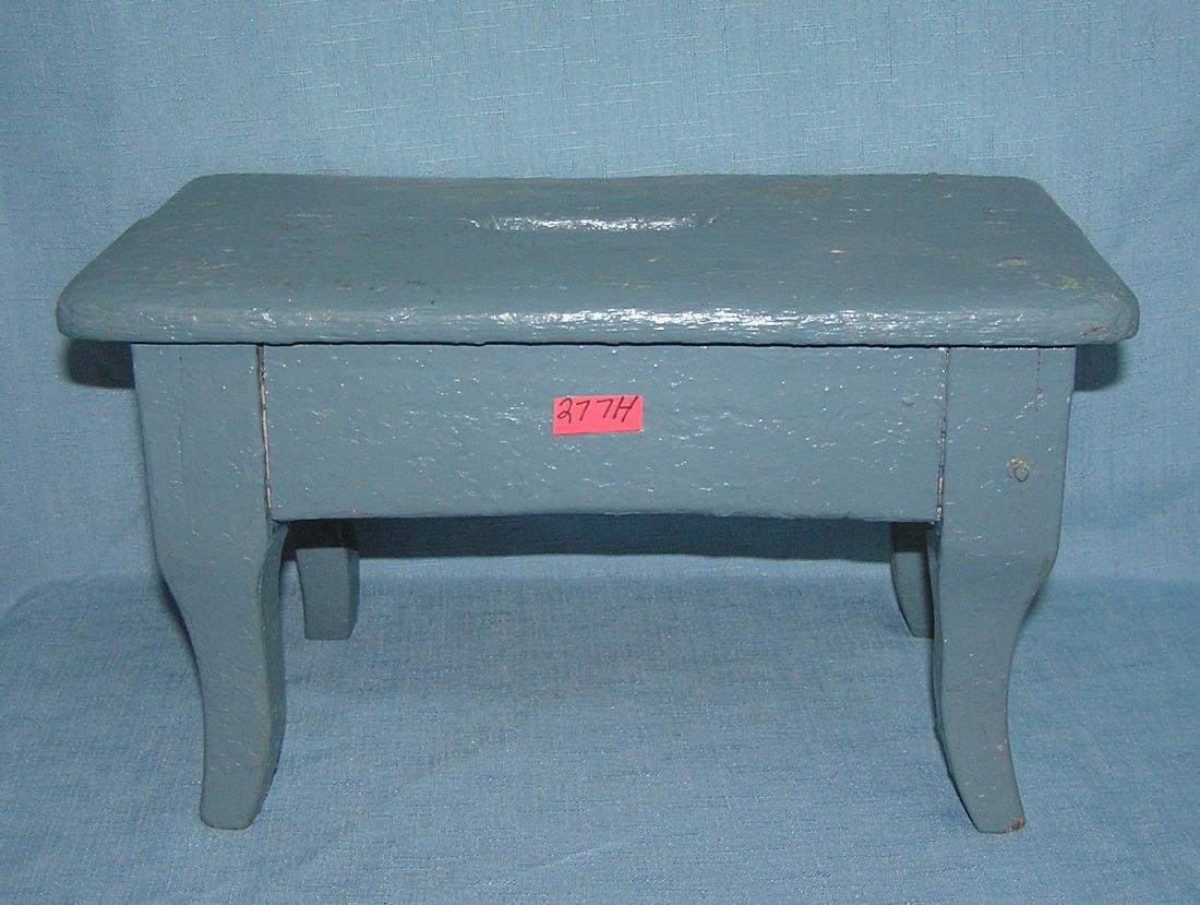 Antique primitive stool circa 1880's