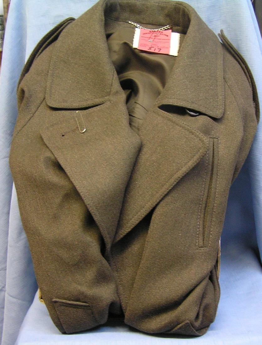 Vintage 100% wool ladies coat