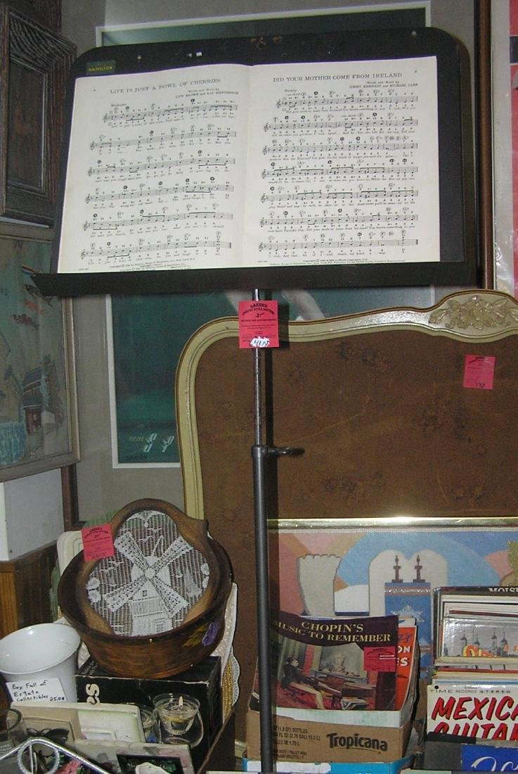 High quality adjustable music stand