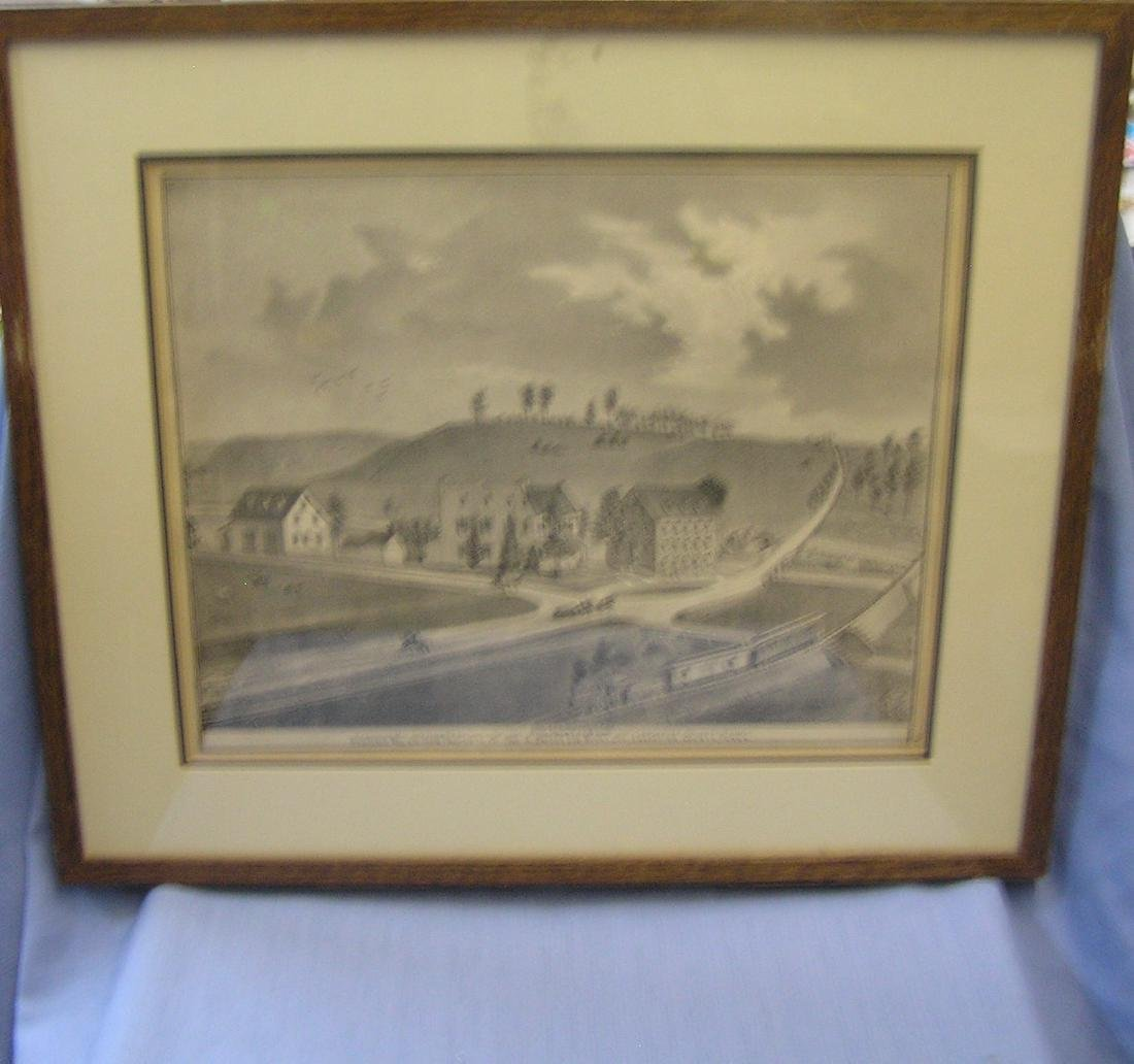 19th century Lancaster county print