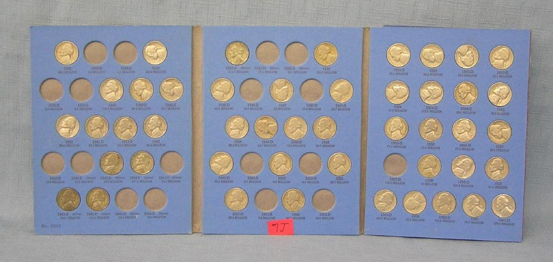 Jefferson nickel collection 1938 to 1961