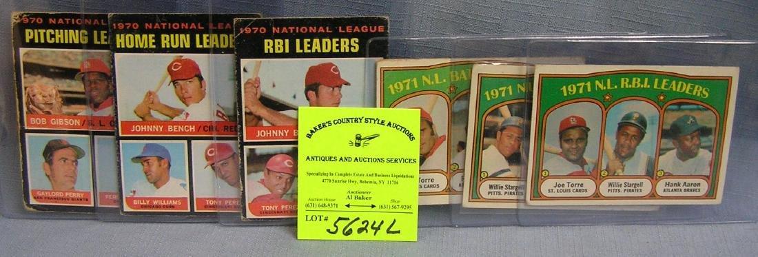 Group of vintage superstar league leaders