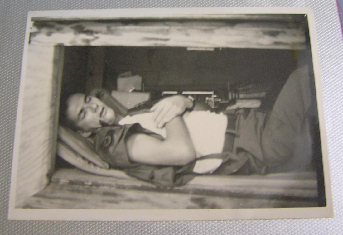 Vietnam veterans military service photo album