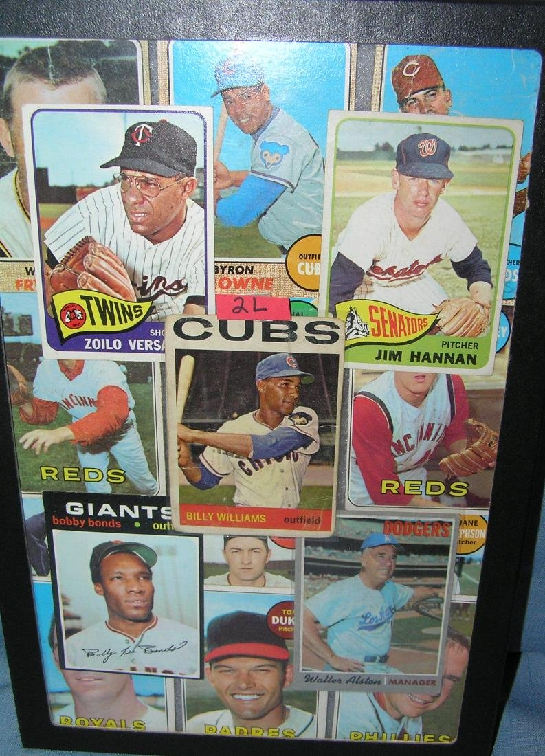 Collection of early Topps all star baseball cards
