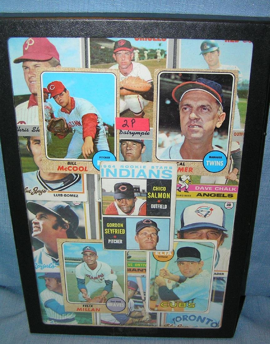 Vintage Topps all star baseball cards