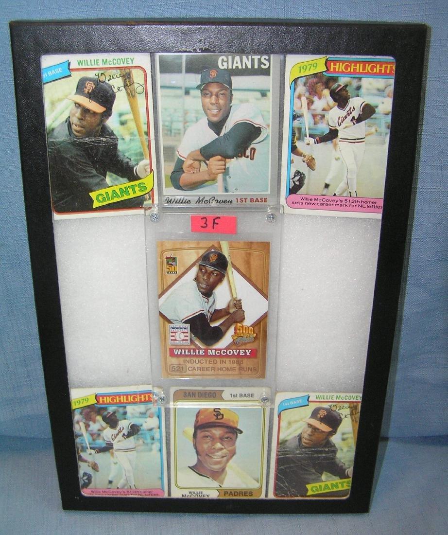 Willie McCovey all star baseball cards