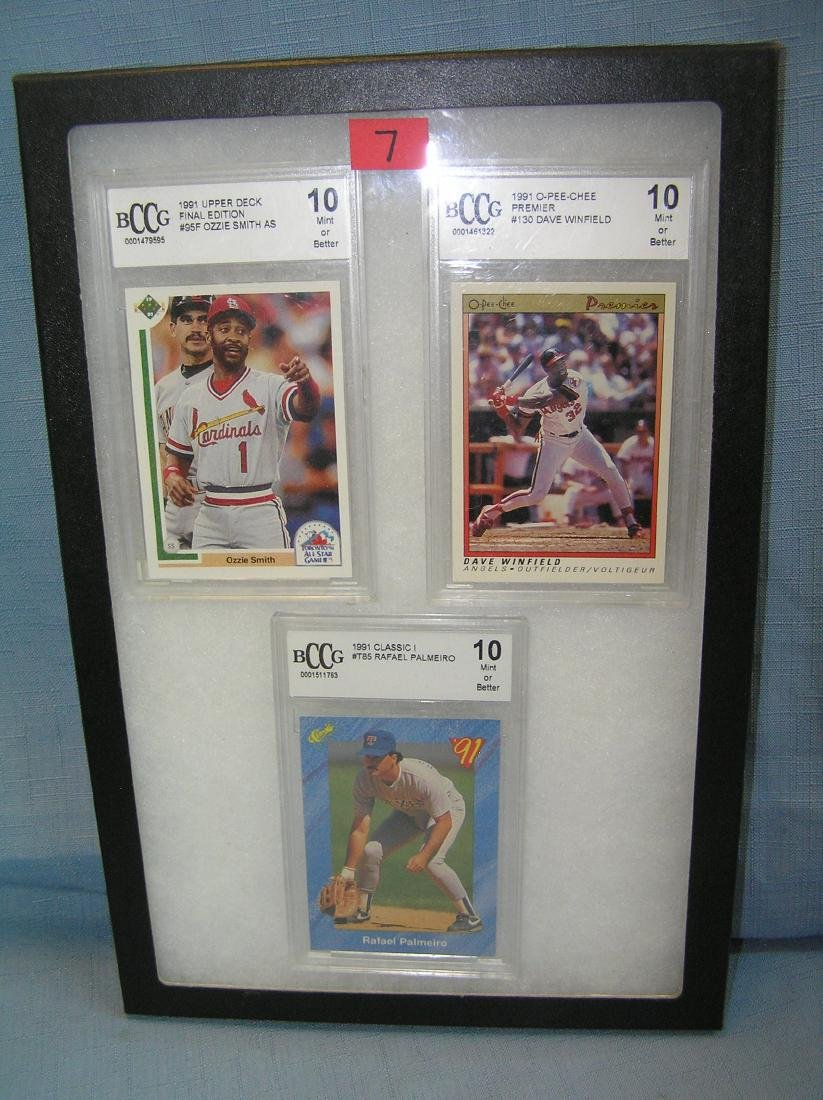 Group of graded all star sports cards