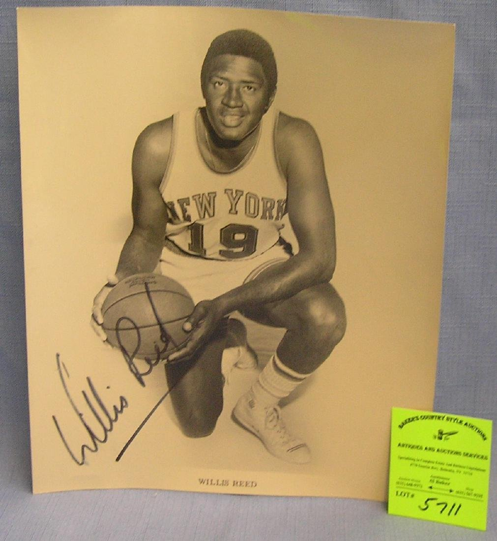 Early Willis Reed basketball photo
