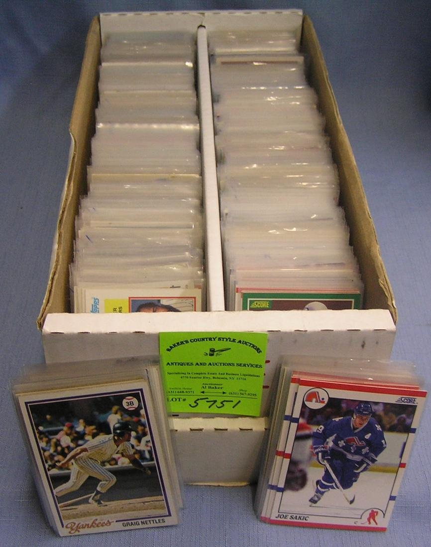 Vintage all star baseball and other sports cards