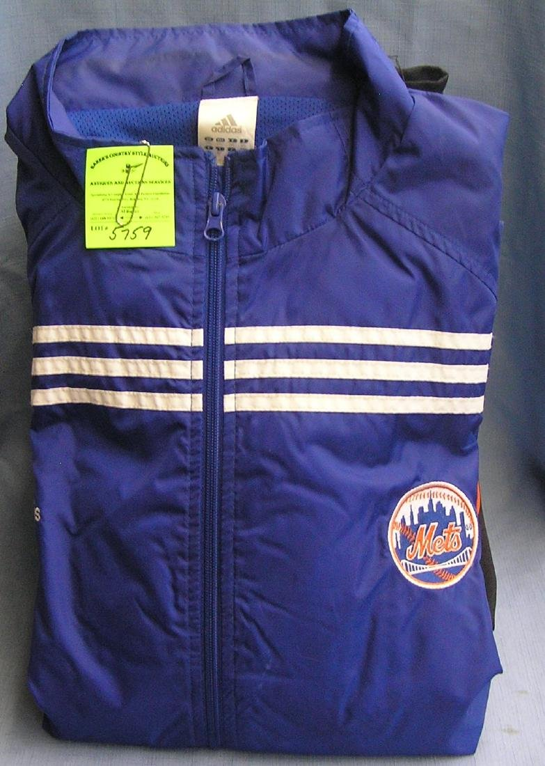 Collection of NY METS and JETS jackets