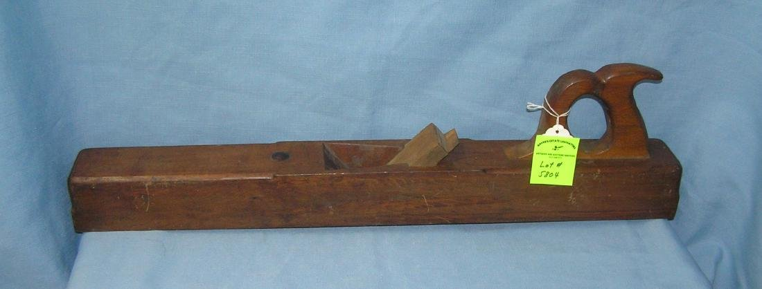 Antique 28 inch woodworker's plane