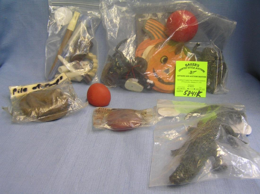 Vintage Halloween decorations and novelties