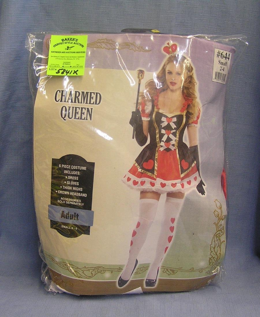 Modern charmed queen adult costume