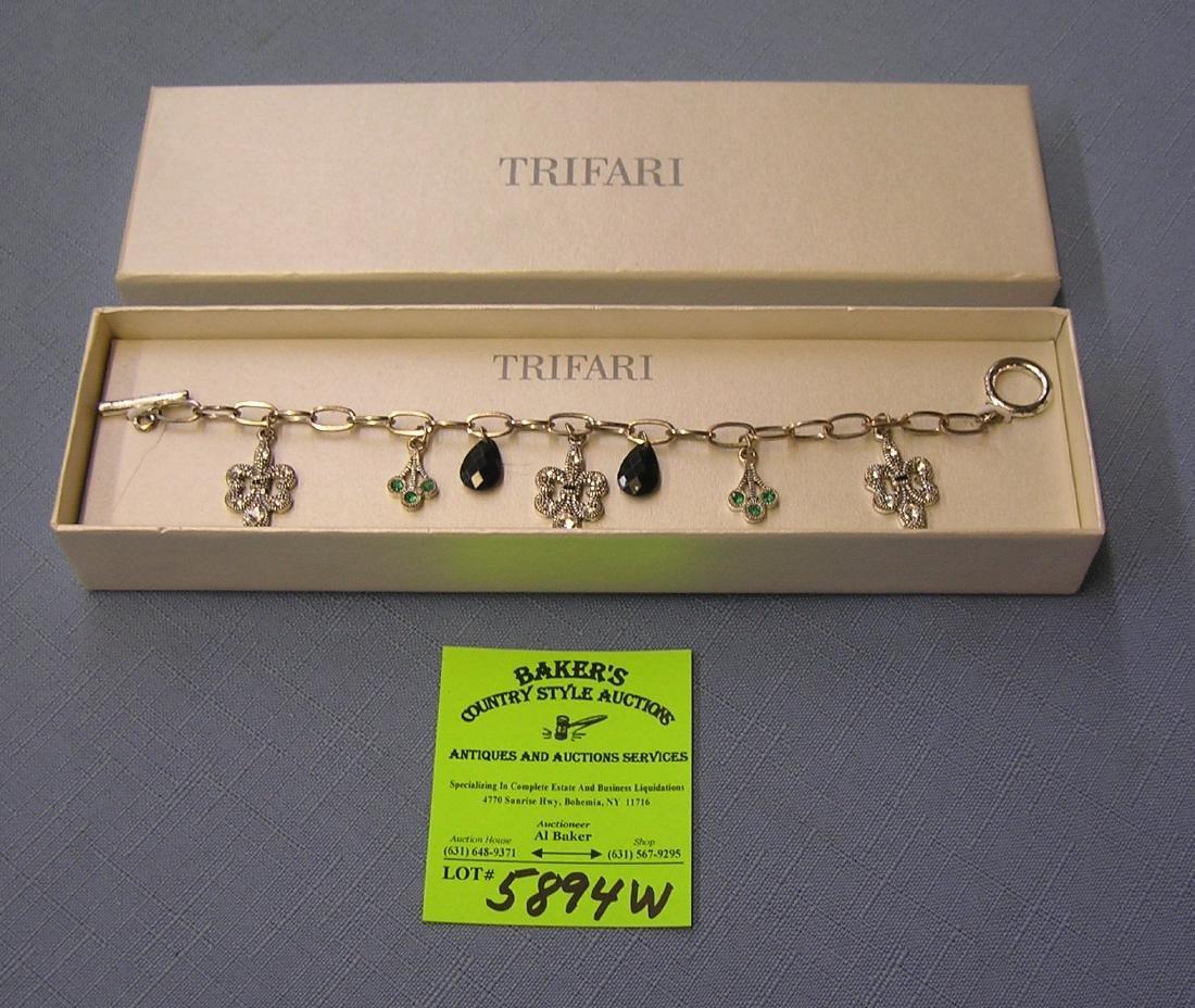 High quality Trifari bracelet with original box