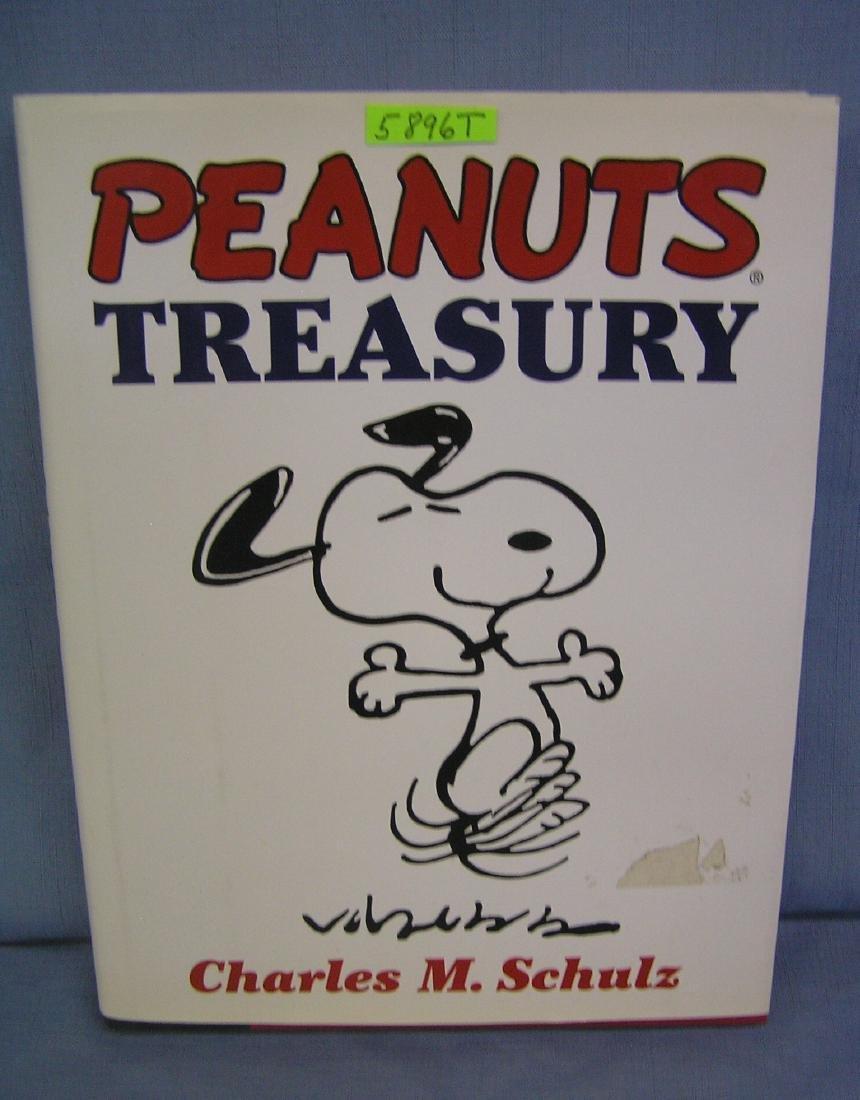 Original Peanuts treasury book by Charles Schulz