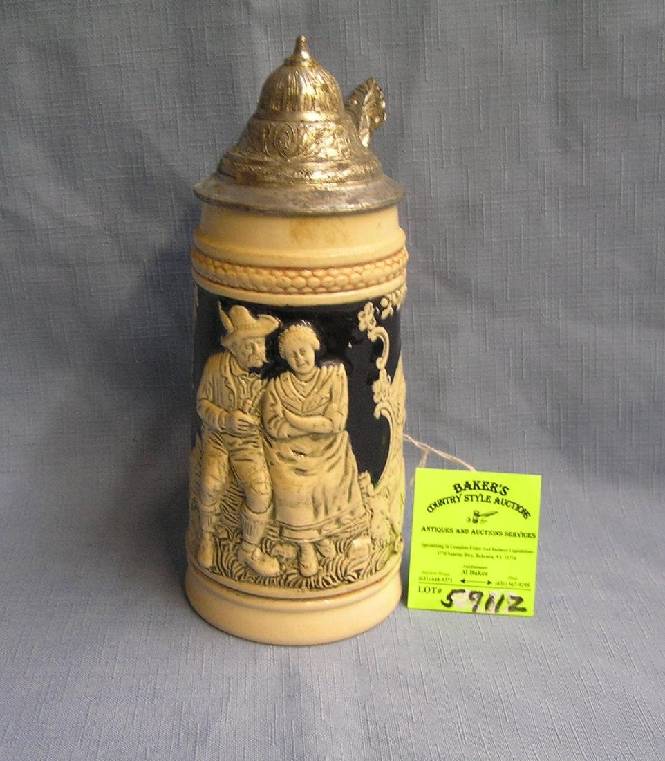 Vintage West German beer stein