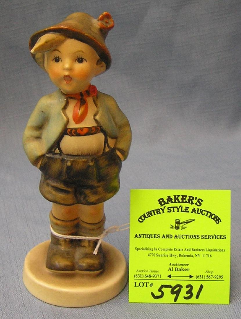 Vintage 1950's Hummel boy figurine