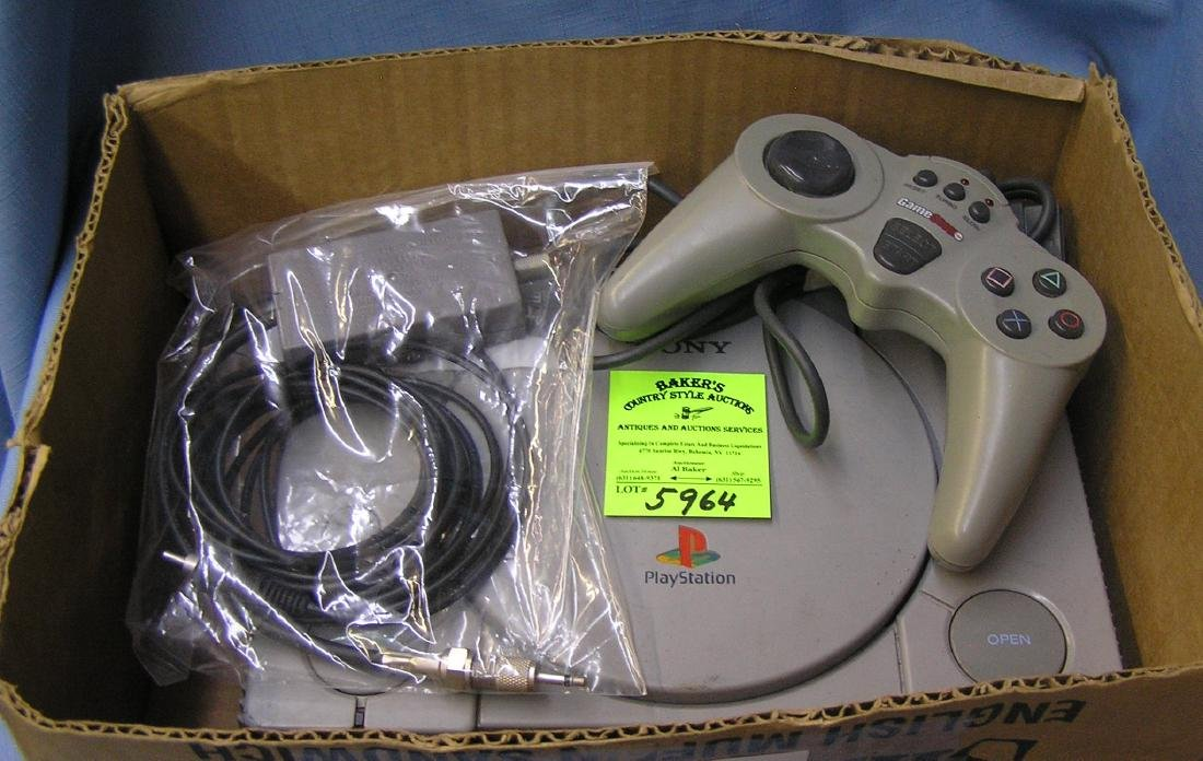 Vintage Playstation and accessories