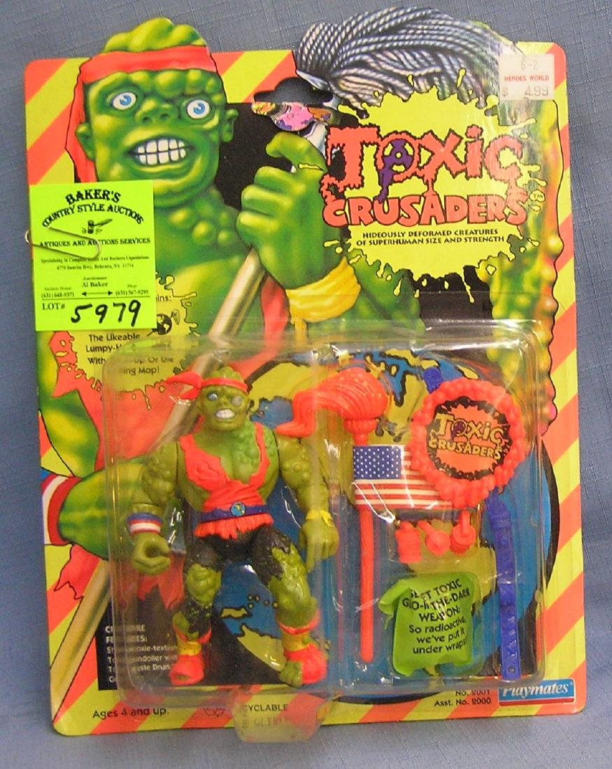 Vintage Toxic crusaders Toxie figure