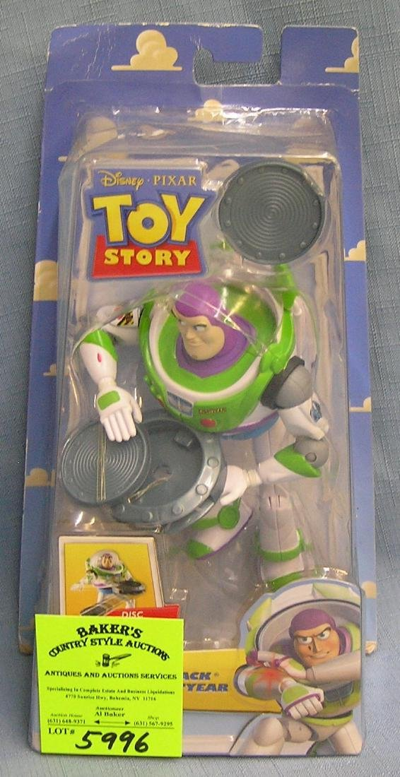 Vintage Toy Story Buzz Lightyear action figure