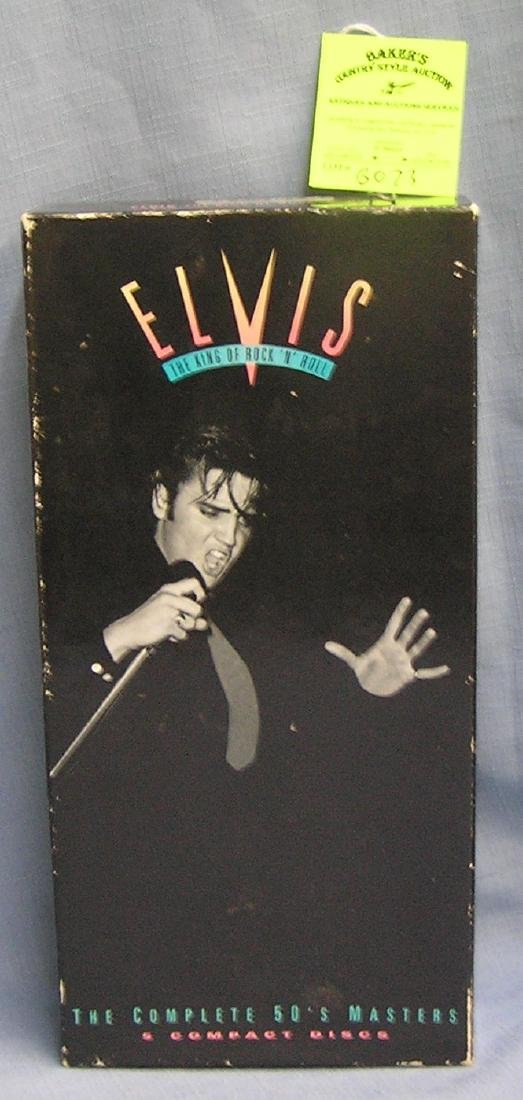 Elvis Presley display box booklet and stamp set