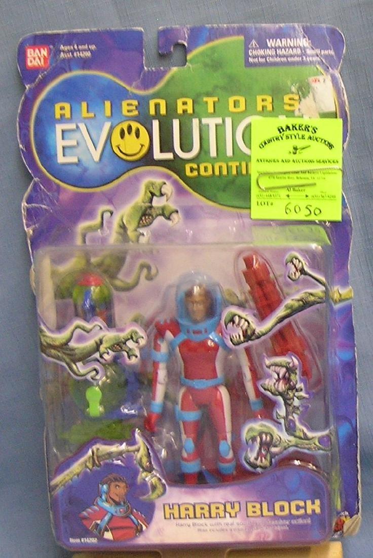 Alienators Harry Bloc action figure mint on card
