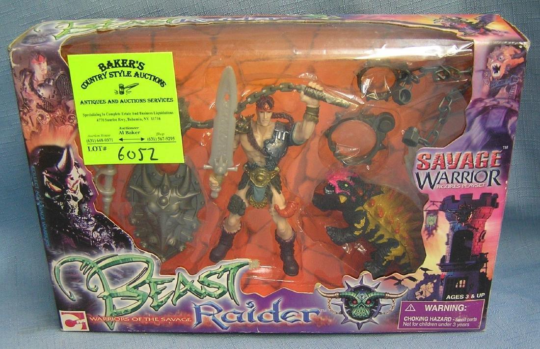 Beast raider action figure play set