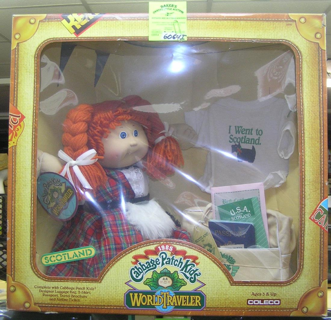 Vintage boxed Cabbage Patch kid's doll, 1985