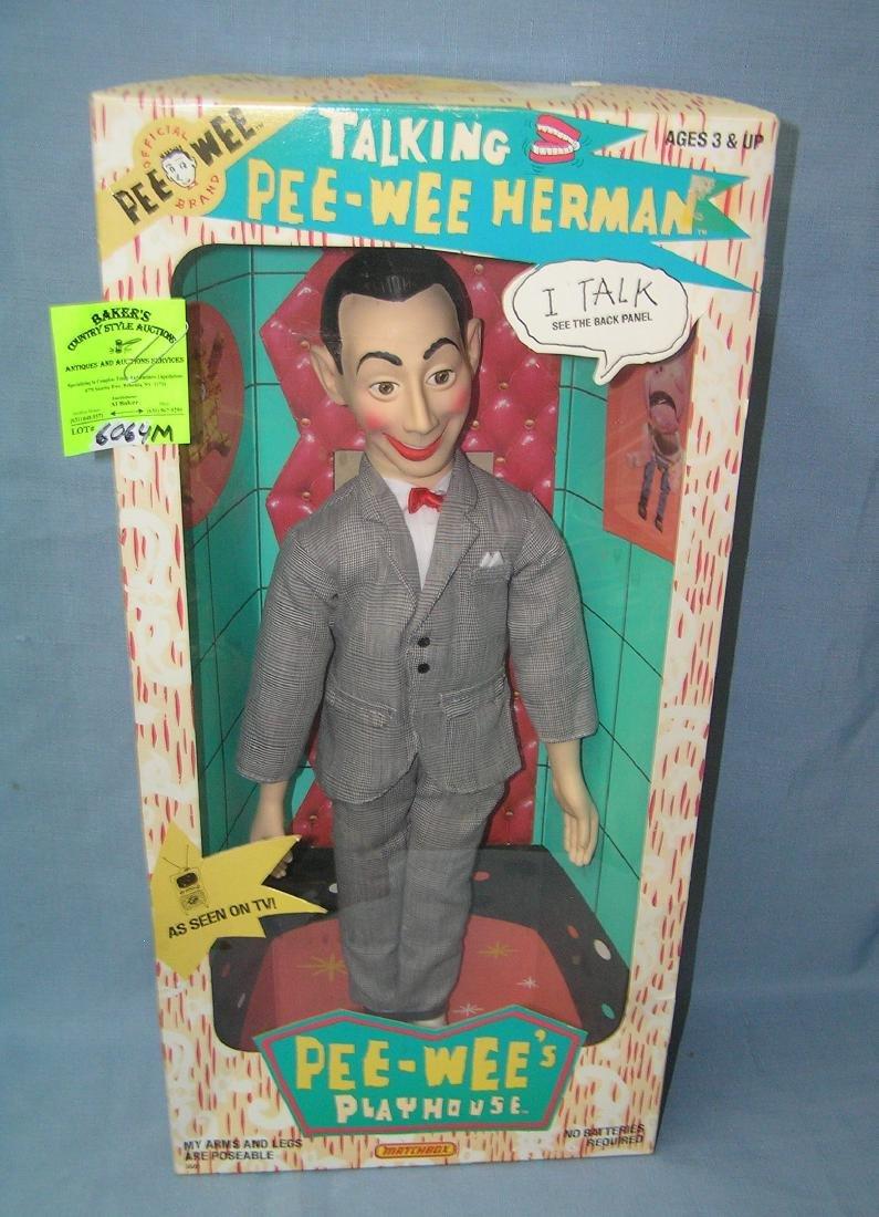 Vintage 17 inch talking Pee Wee Herman character doll