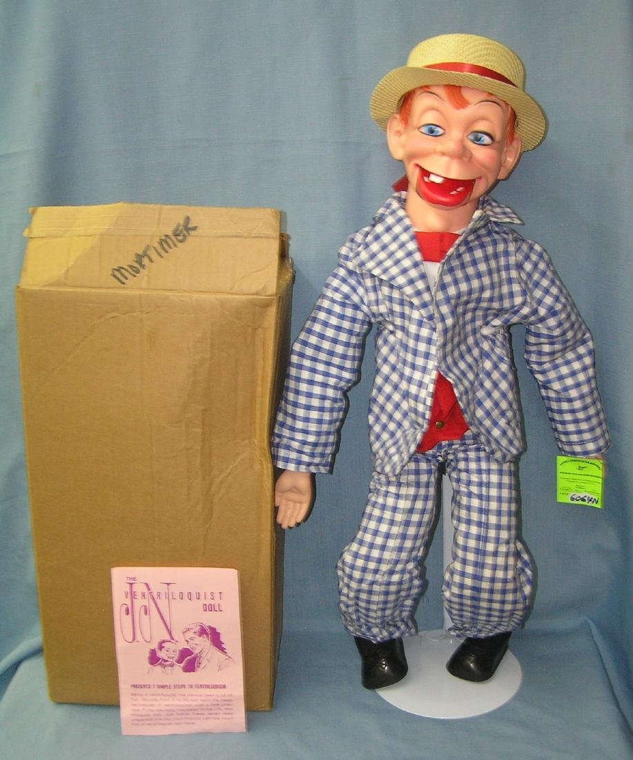 Mortimer Snerd ventriloquist and character doll