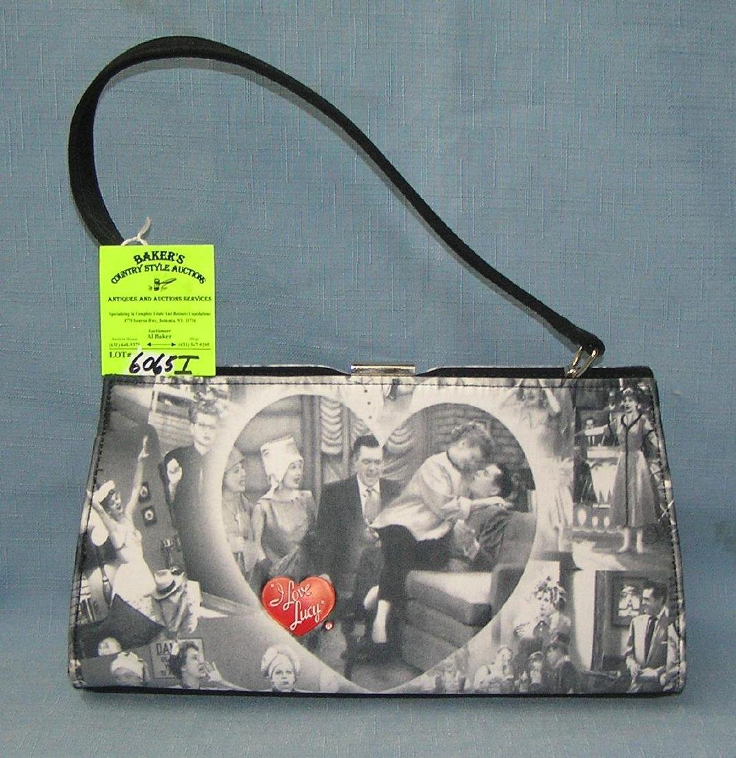 Vintage decorative I Love Lucy hand bag