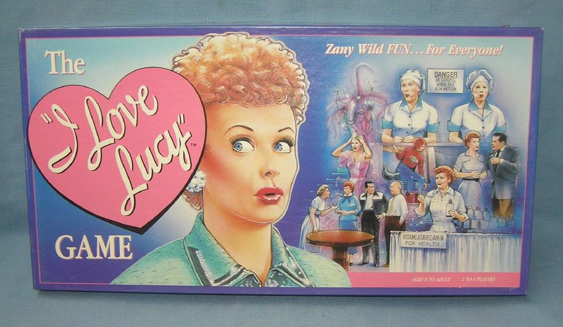 The I Love Lucy board game