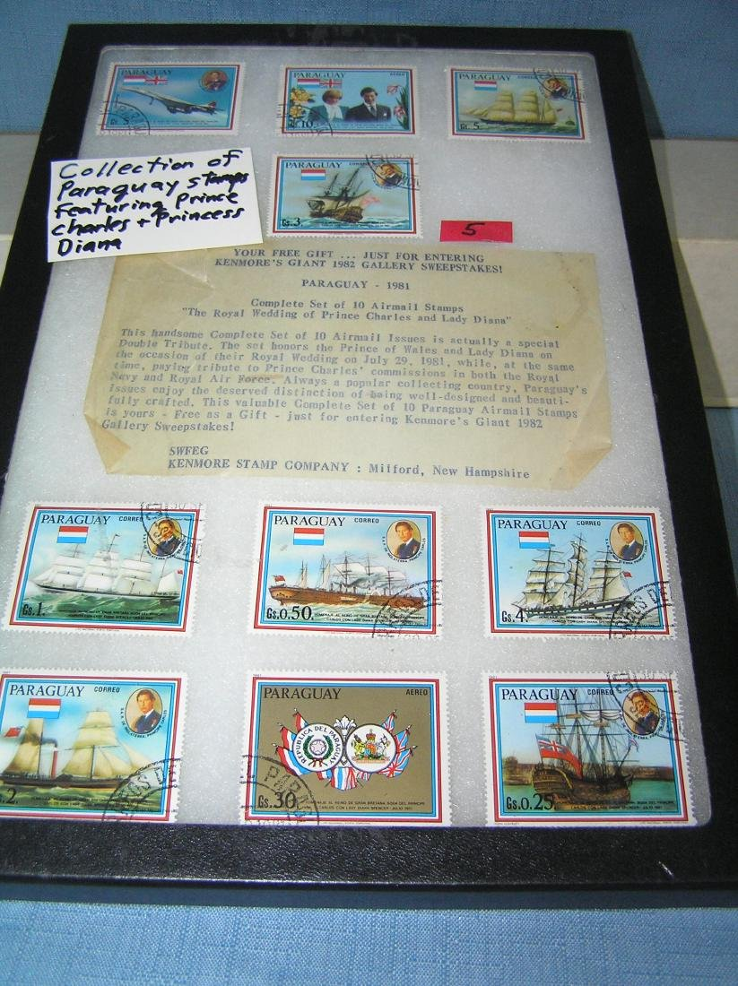 Collection of Paraguay stamps