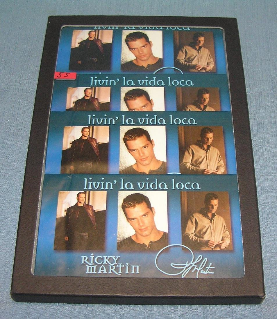 Group of Ricky Martin fan club photo packages