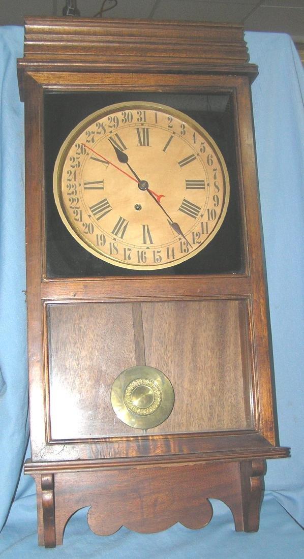 Great oak case regulator clock