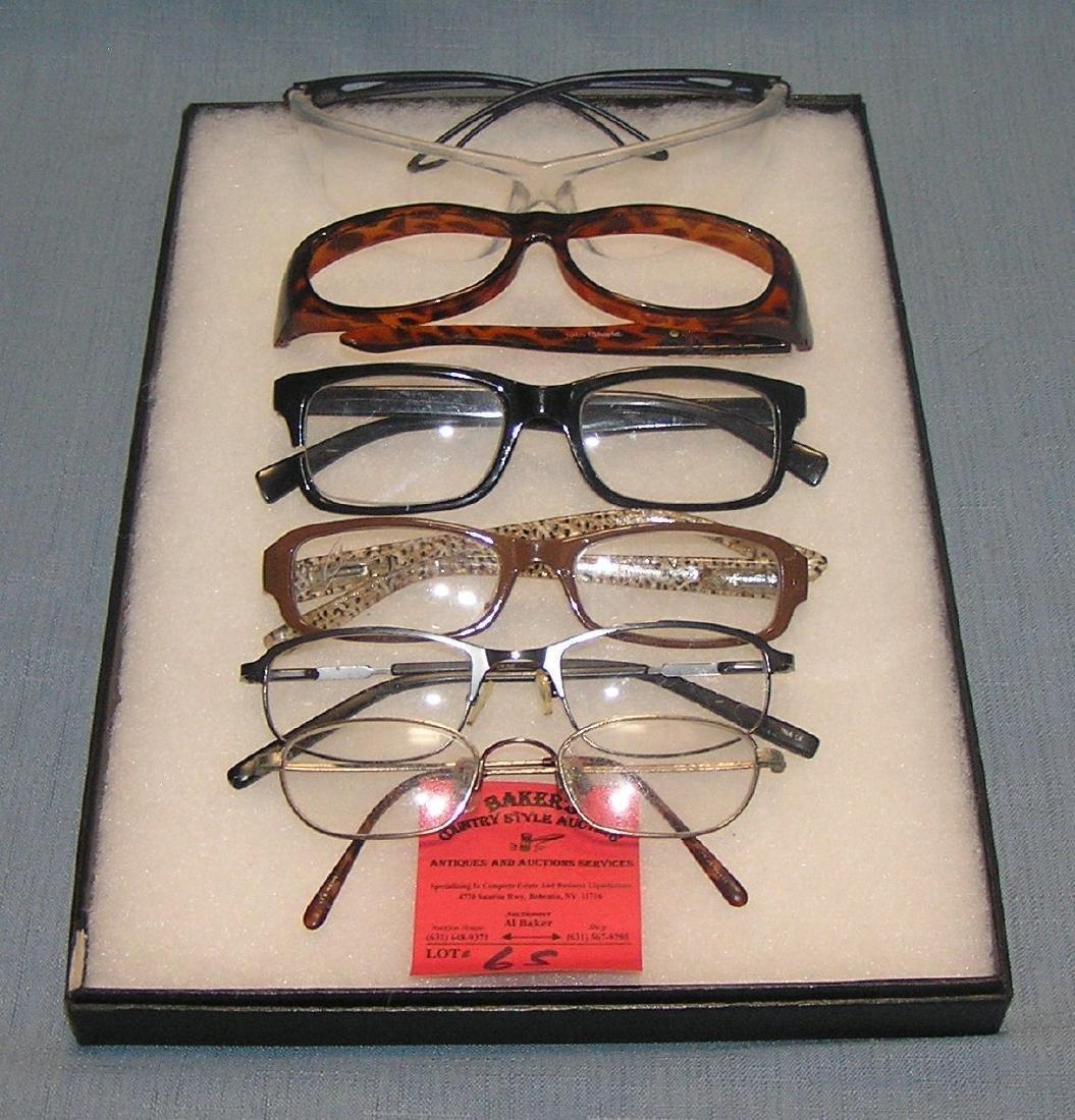 Collection of vintage eyewear