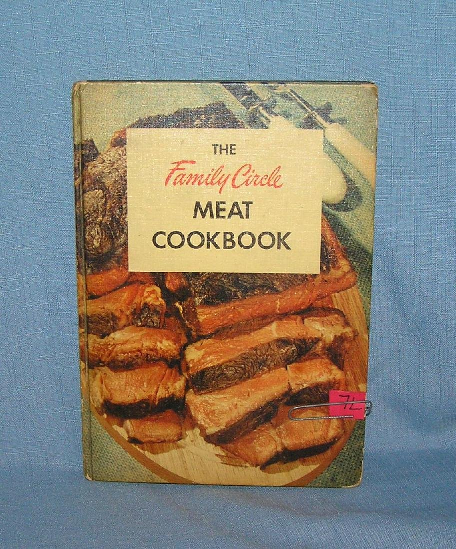 Vintage Family Circle meat cook book