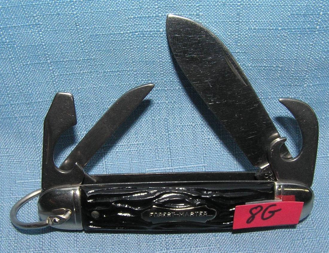 Vintage Forest Master 4 bladed pocket knife