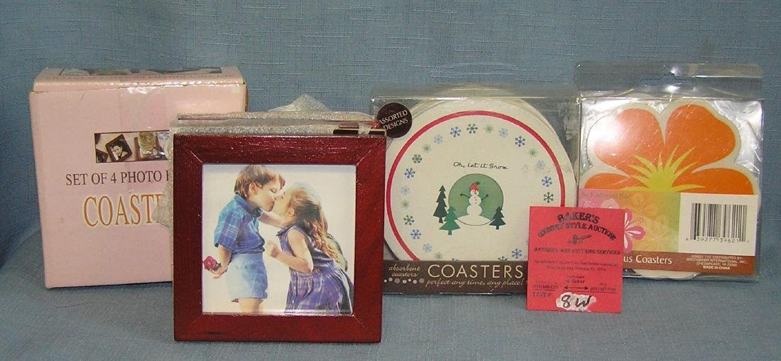Collection of decorative coasters