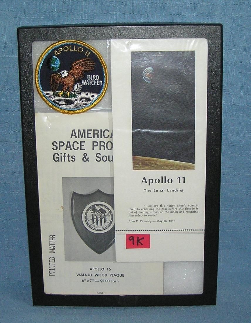 Space collectibles inc.  Apollo 11, Apollo 16 and more