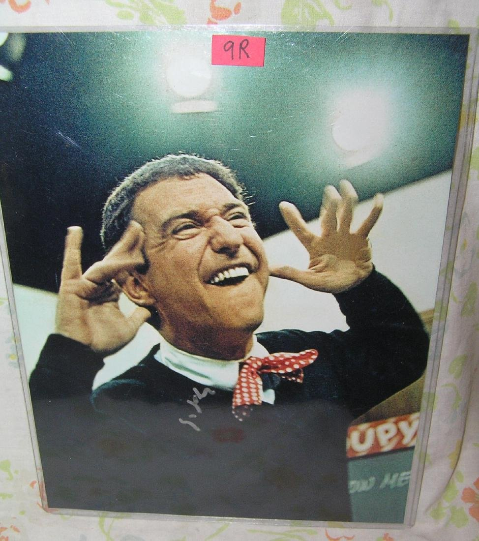 Soupy Sales autographed color photo